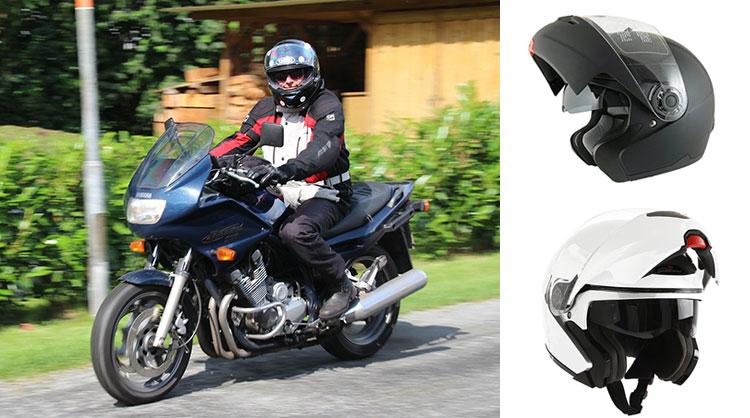 comment choisir casque moto modulable