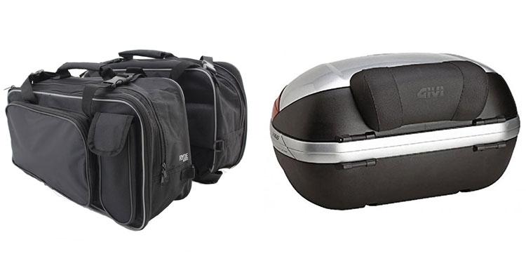 top case et bagagerie moto
