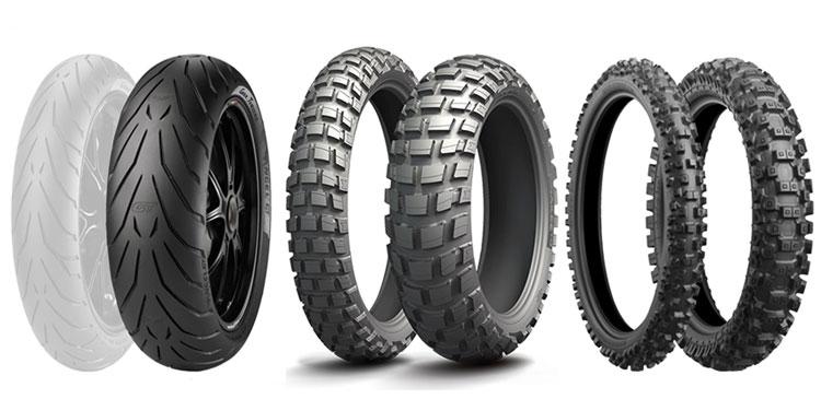 pneumatiques pour moto