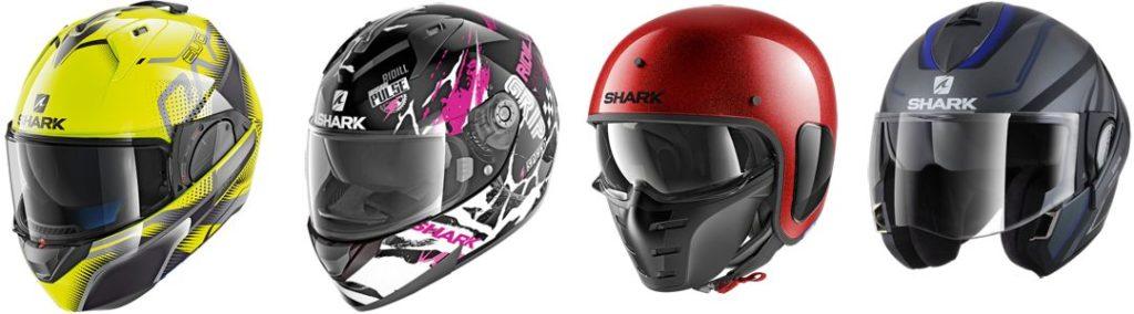 Sélection de casque Shark Helmets